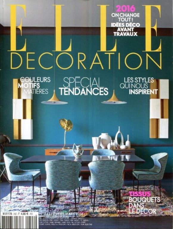 Elle Decoration Febrery - March 2016