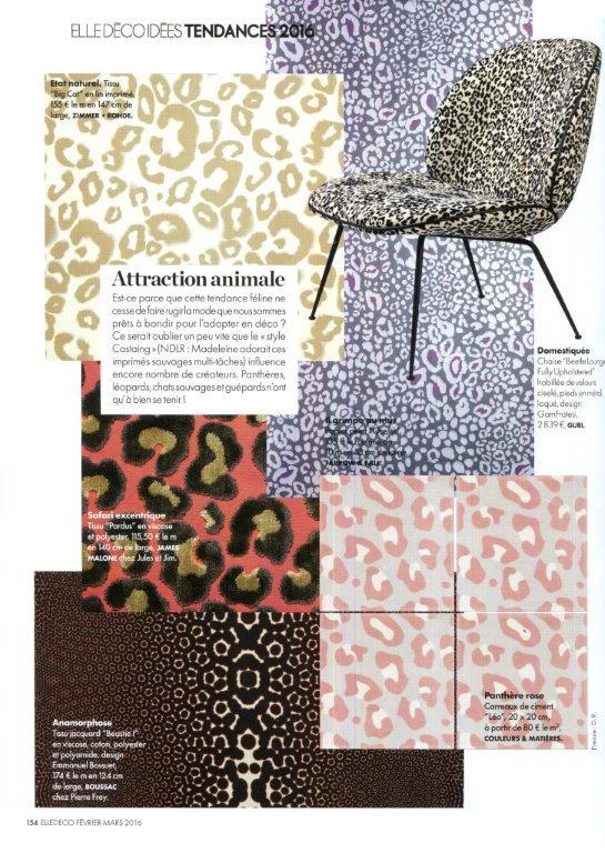 Elle decoration Febrery - March 2016 - 1